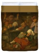 Peasant Party Drink Duvet Cover