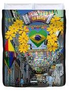 Pelourinho - The Historic Center Of Salvador Duvet Cover