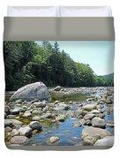Pemmigewasset River Duvet Cover