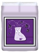 Personality Vase Duvet Cover