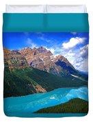 Peyto Lake, Banff National Park Duvet Cover