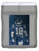 Peyton Manning Colts 2 Duvet Cover