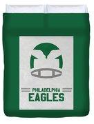 Philadelphia Eagles Vintage Art Duvet Cover