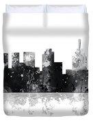Philadelphia Pennsylvania Skyline Duvet Cover