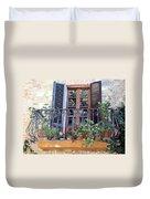 Pienza Balcony Duvet Cover