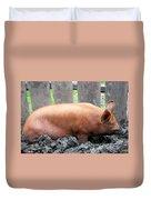 Pig Duvet Cover