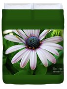 Pink African Daisy Duvet Cover