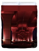 Pink Bridge 4 Duvet Cover