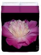 Pink Peony Petals Duvet Cover