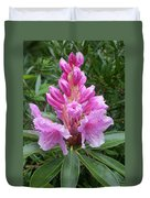 Pink Rhododendron 0070 Duvet Cover