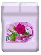 Pink Rose 5 Duvet Cover