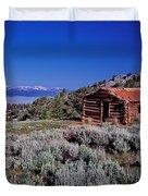 Pioneer Cabin Duvet Cover