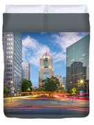 Pittsburgh 16 Duvet Cover by Emmanuel Panagiotakis