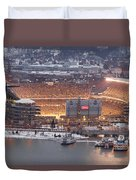 Pittsburgh 4 Duvet Cover by Emmanuel Panagiotakis