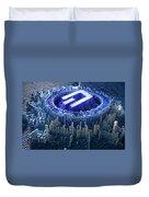 Pixel Dash Concept Duvet Cover
