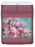 Plum Blossom - Bring On Spring Series Duvet Cover