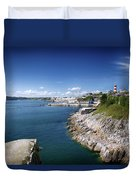Plymouth Foreshore Duvet Cover