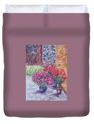 Poinsettias - Gifted Duvet Cover
