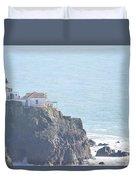 Point Bonita Light House Duvet Cover