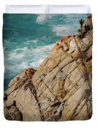 Point Lobos California Duvet Cover