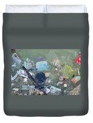 Polluted Dirty Water Duvet Cover