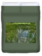Pond Grasses Duvet Cover