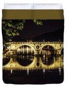 Ponte Sisto Duvet Cover