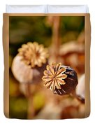 Poopy Seed Pod... Duvet Cover