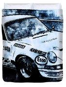 Porsche Carrera Rsr, 1973 - 03 Duvet Cover