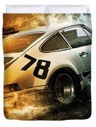 Porsche Carrera Rsr, 1973 - 20 Duvet Cover