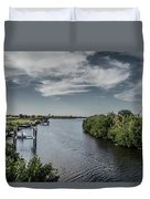 Port Charlotte Atlantus Waterway From Ohara Duvet Cover