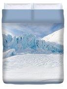 Portage Glacier, Alaska Duvet Cover