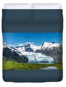 Portage Glacier Duvet Cover
