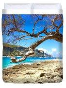 Porte D Enfer, Guadeloupe Duvet Cover