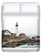 Portland Head Light Duvet Cover