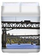 Portland Port104 Duvet Cover
