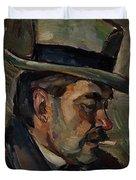 Portrait Of Artist Karnakoski Duvet Cover