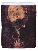Portrait Of Diego Rivera 1914  Duvet Cover