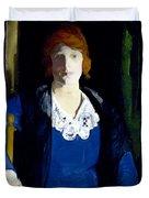 Portrait Of Florence Pierce Duvet Cover