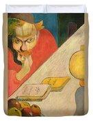 Portrait Of Jacob Meyer De Haan Duvet Cover