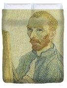 Portrait Of Vincent Van Gogh Duvet Cover