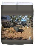 Pot-bellied Pig Duvet Cover