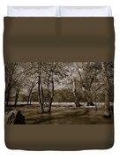 Potomac River Duvet Cover