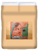 Prayer 37 - Tile Duvet Cover