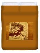 Presence - Tile Duvet Cover