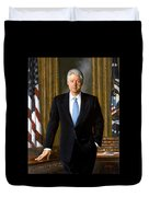 President Bill Clinton Duvet Cover