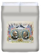 Presidential Campaign, 1888 Duvet Cover