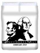 President's Day Duvet Cover