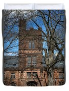 Princeton University East Pyne Hall Tower Duvet Cover