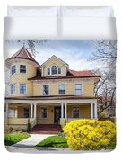 Prospect Park South Historic District Duvet Cover